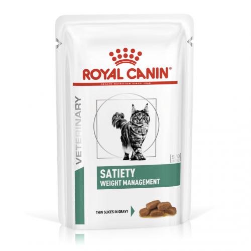 """Satiety Weight Management - Влажный корм для кошек для снижения веса """"Роял Канин Сатаети Вейт Менеджмент"""""""