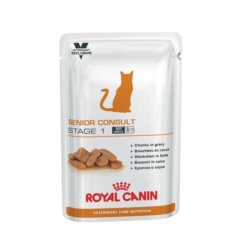 """Royal Canin Senior Consult Stage 1 - Влажный корм для кошек 7+ лет, не имеющих видимых признаков старения """"Роял Канин Сеньор Консалт Стэйдж 1"""""""
