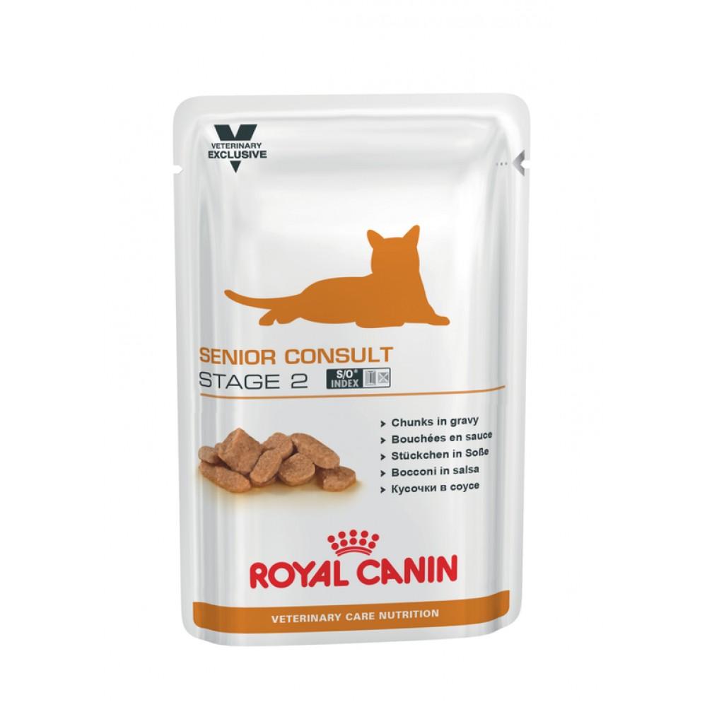 """Royal Canin Senior Consult Stage 2 - Влажный корм для кошек 7+ лет, имеющих видимые признаки старения """"Роял Канин Сеньор Консалт Стэйдж 2"""""""