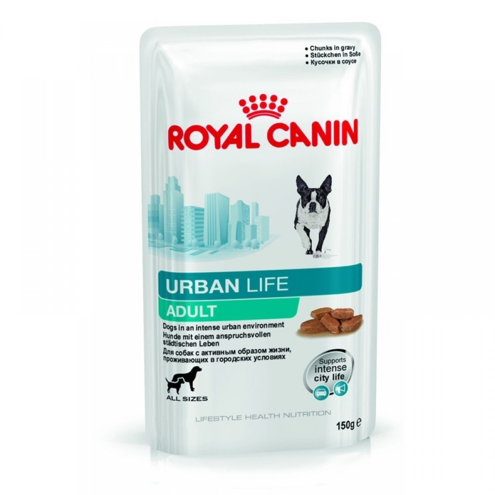 "Royal Canin Urban Life Adult - Влажный корм для взрослых собак, живущих в городских условиях ""Роял Канин Урбан Лайф Эдалт"""