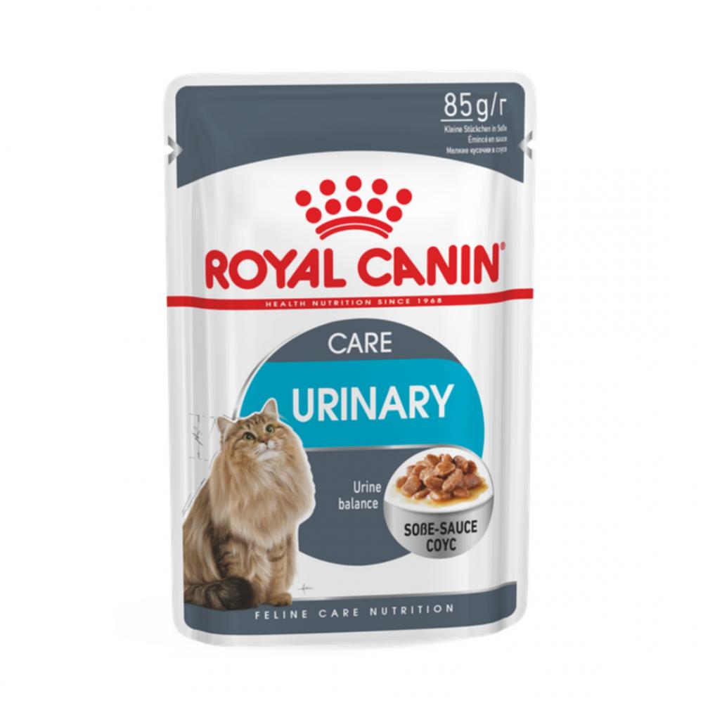 """Royal Canin Urinary Care - Влажный корм для взрослых кошек, для поддержания здоровья мочевыделительной системы """"Роял Канин Уринари Кэа"""""""