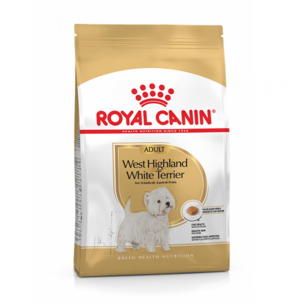 "Royal Canin West Highland White Terrier Adult - Корм для взрослых собак породы вест-хайленд уайт терьер ""Роял Канин Эдалт"""