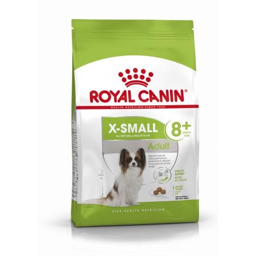 "X-small Adult 8+ - Корм для собак от 8 до 12 лет ""Роял Канин ИКС-Смол Эдалт 8+"""