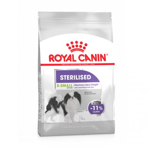 """X-Small Sterilised - Корм для взрослых стерилизованных собак мелких пород """"Роял Канин Икс-Смол Стерилайзд Эдалт"""""""