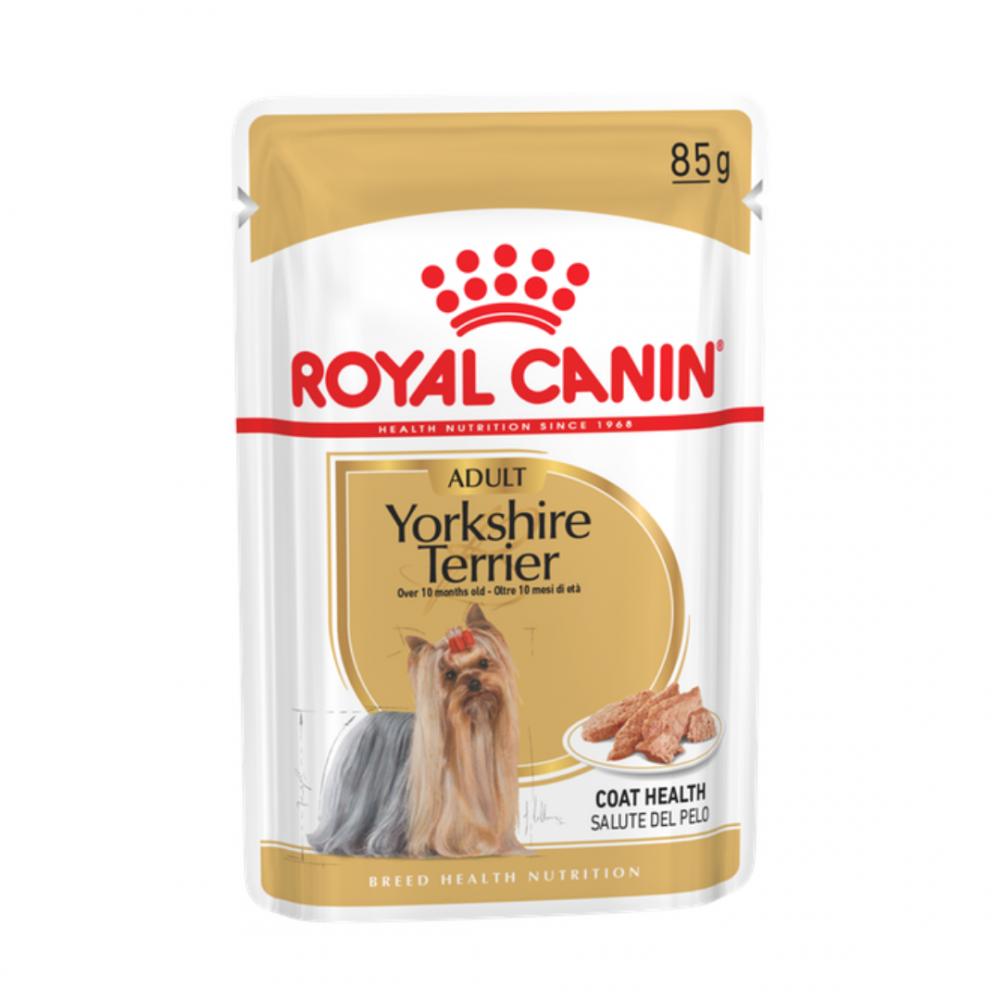 Royal Canin Yorkshire Terrier - Влажный корм для взрослых собак породы йоркширский терьер Роял Канин