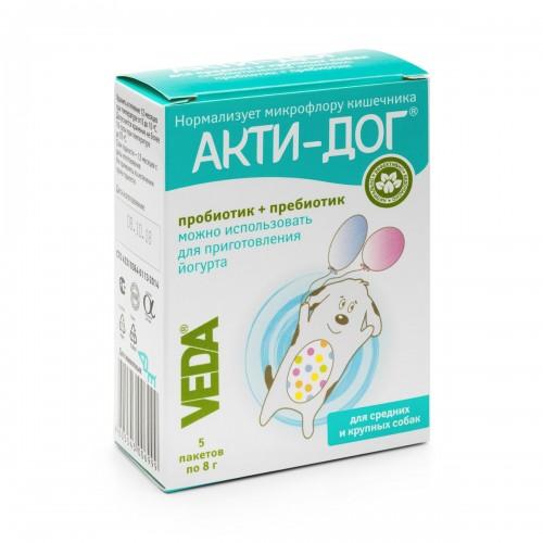 АКТИ-ДОГ - Функциональный корм для средних и крупных собак