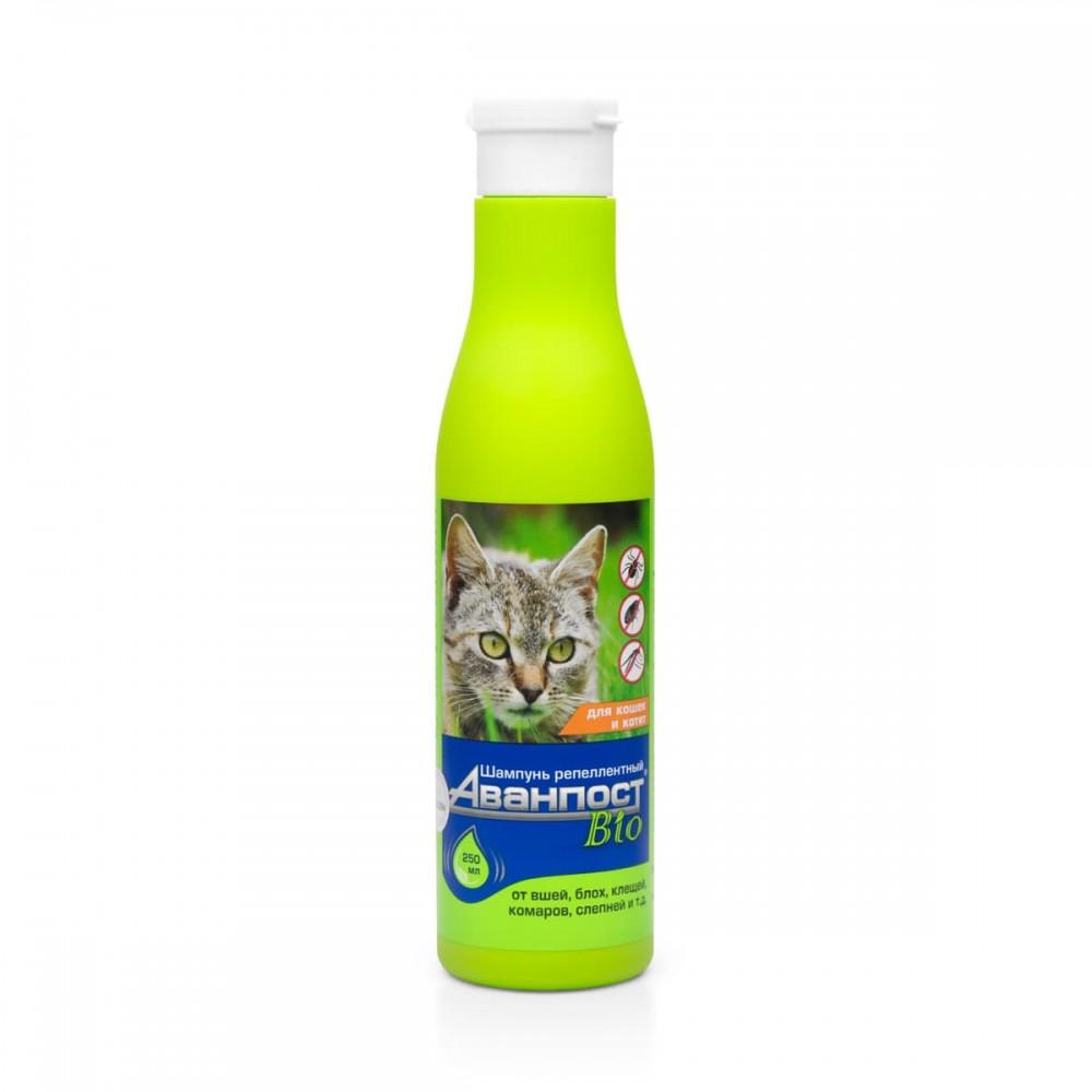 VEDA АВАНПОСТ® Bio - Шампунь репеллентный для кошек