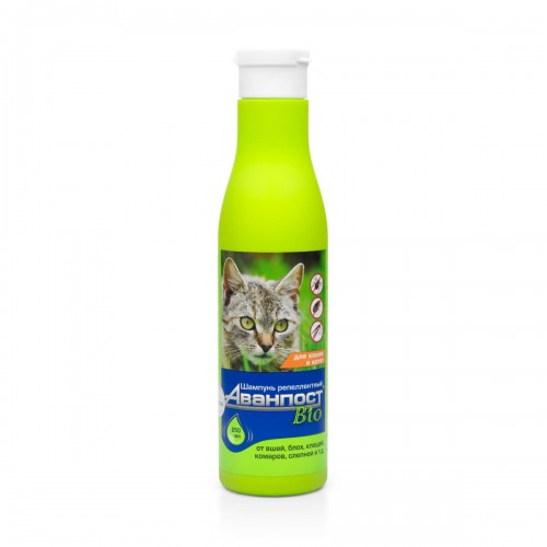 АВАНПОСТ® Bio - Шампунь репеллентный для кошек