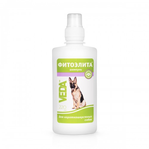 ФИТОЭЛИТА® - Шампунь для короткошерстных собак
