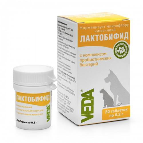 ЛАКТОБИФИД - Пробиотический функциональный корм для домашних животных