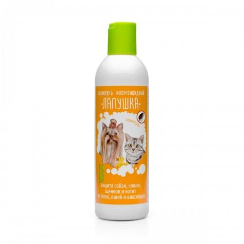 Лапушка шампунь инсектицидный для кошек и собак