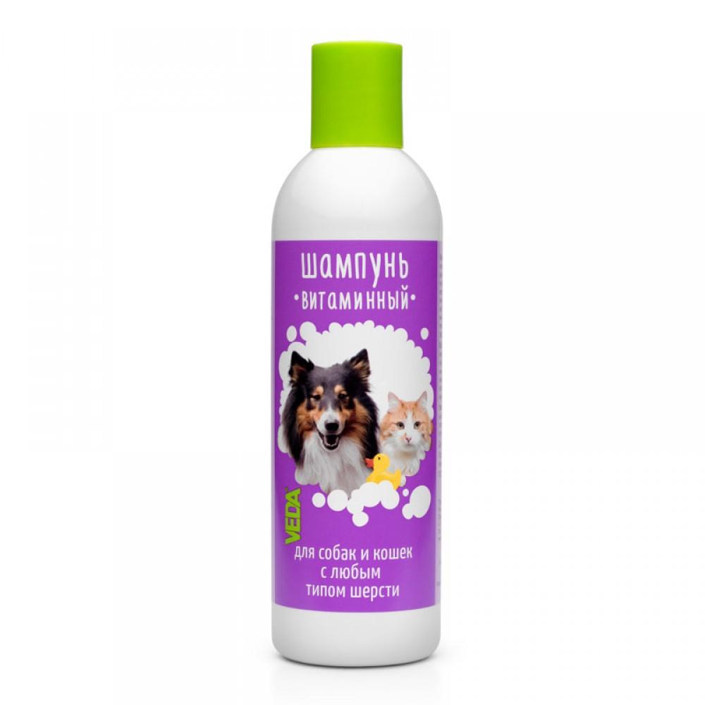 VEDA Витаминный шампунь для собак и кошек