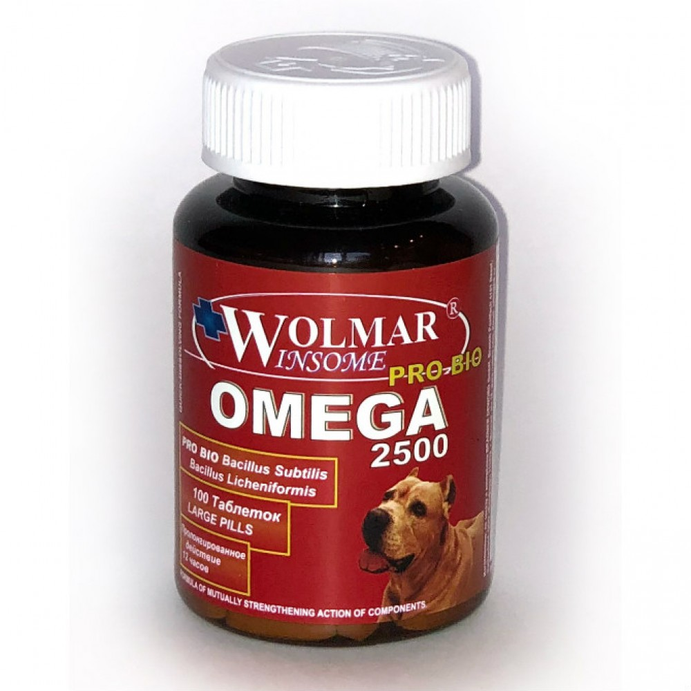Фарма Волмар Winsome Pro Bio Omega 2500 - Синергетический комплекс для крупных пород собак