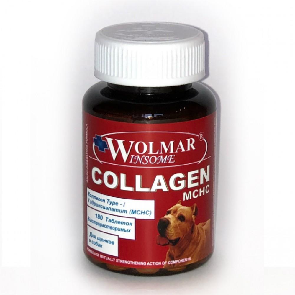 Фарма Волмар Winsome COLLAGEN MCHC - Комплекс на основе микрокристал.кальция гидроксиапатита для собак