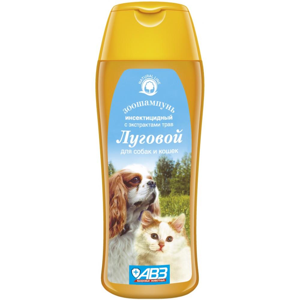 """АВЗ Зоошампунь """"Луговой"""" инсектицидный для кошек и собак"""