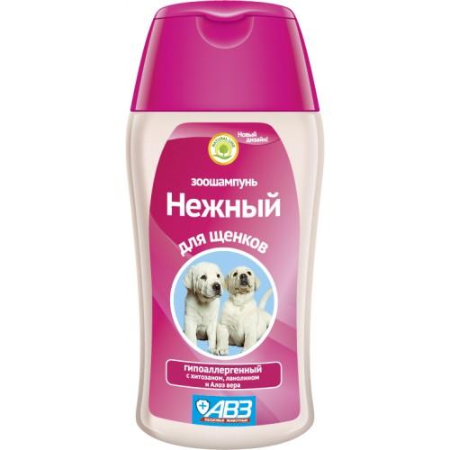 """Зоошампунь """"Нежный"""" для щенков с хитозаном"""