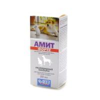 Амит форте для лечения собак и кошек при саркоптоидозах и демодекозе