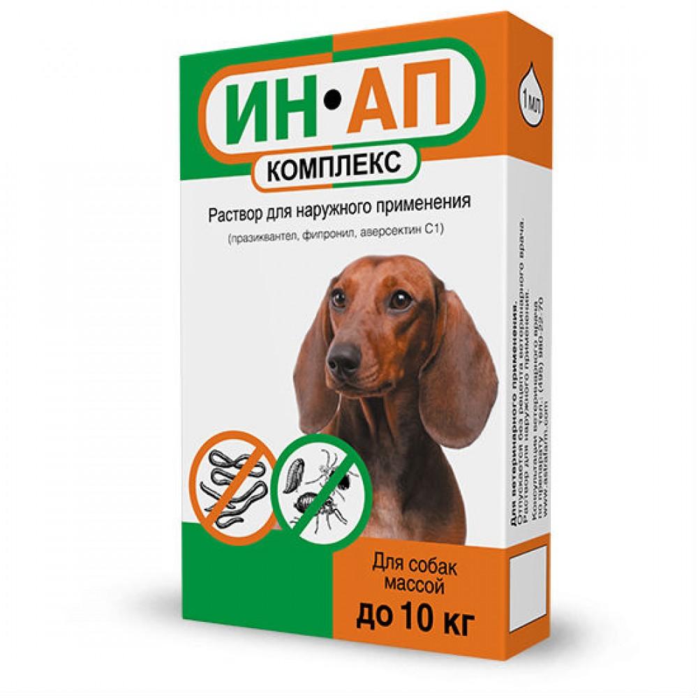 Астрафарм ИН-АП комплекс - Капли на холку для собак и щенков, 1 флакон