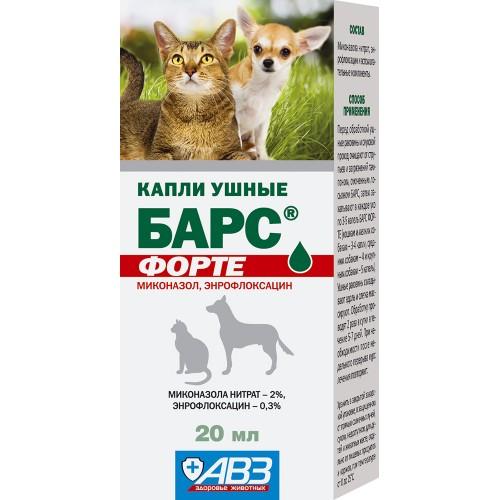 БАРС ФОРТЕ - Капли ушные