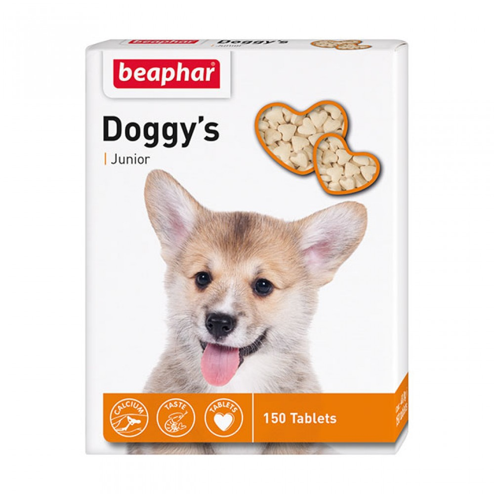 "Beaphar ""Doggy`s Junior"" Беафар - Витамины для щенков"