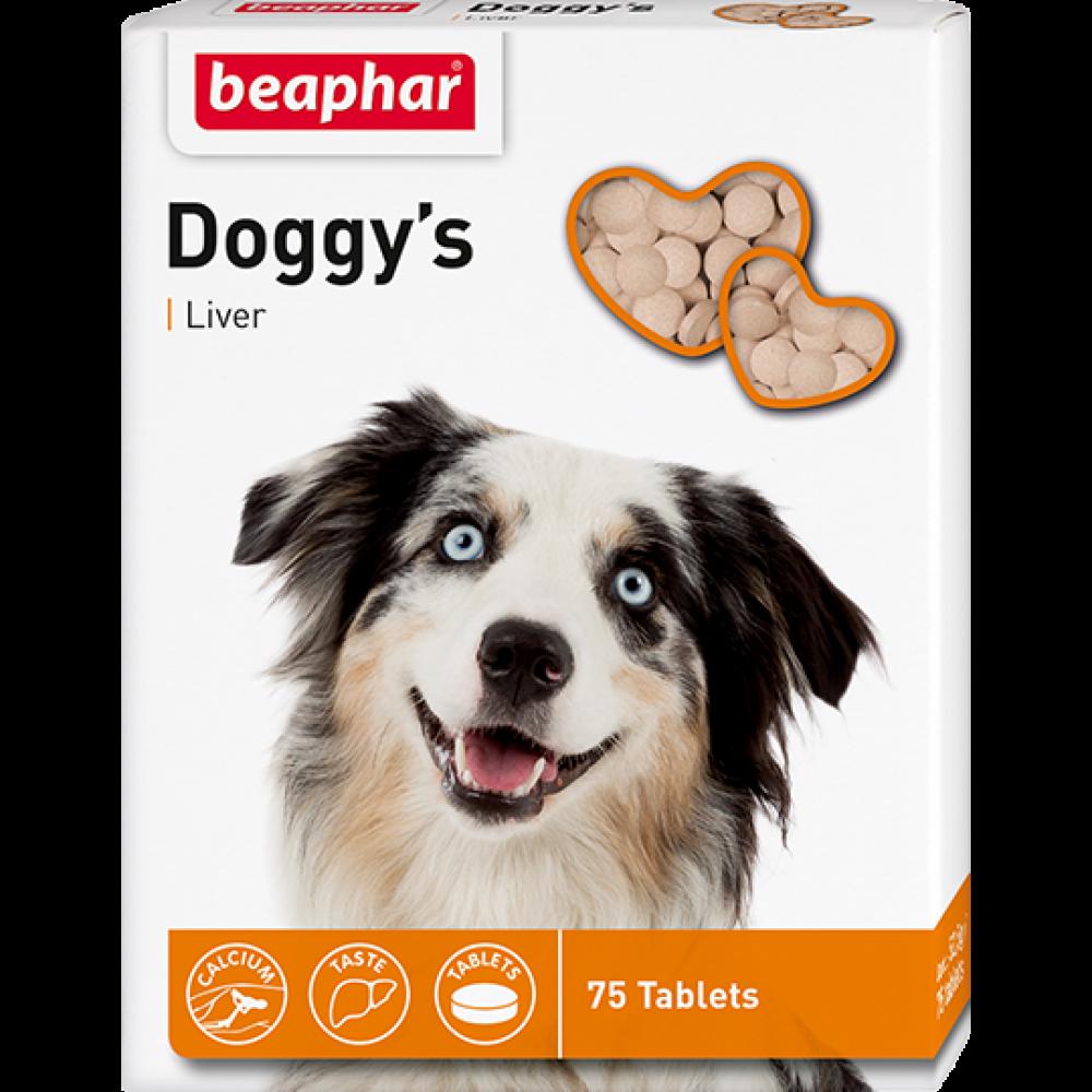 """Beaphar """"Doggy`s+Liver"""" Беафар - Витамины для собак с ливером"""