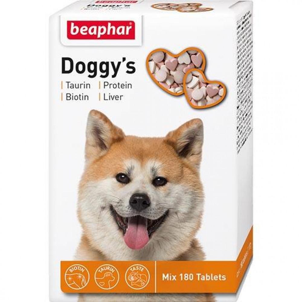 "Beaphar ""Doggy`s MIX"" Беафар - Витамины для собак смесь биотин-таурин, протеин, печень"