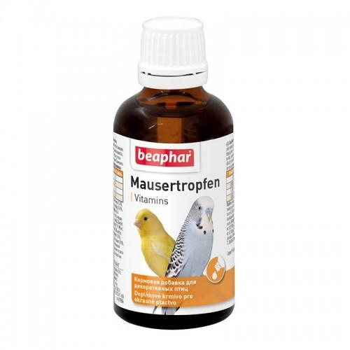 """Mauser-Tropfen"" Беафар - Витамины для птиц в период линьки"
