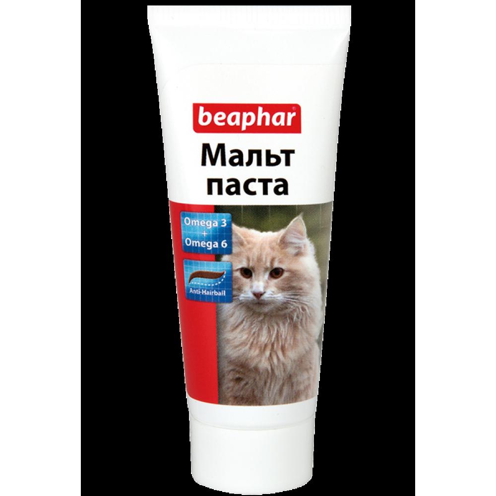 """Beaphar """"Malt Pastе"""" Беафар - Паста для кошек для вывода шерсти из кишечника"""