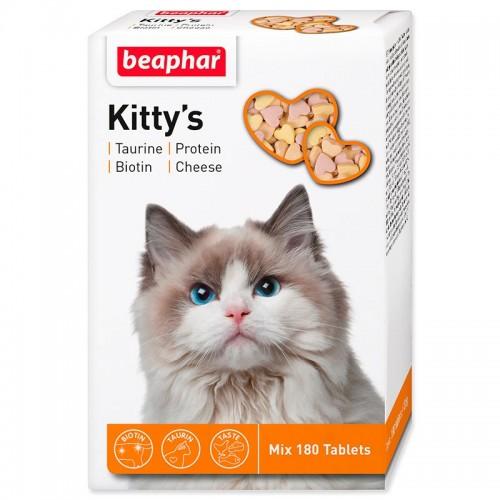 """""""Kitty`s+Taurine+Biotin"""" Беафар - Витамины для кошек таурин+биотин"""