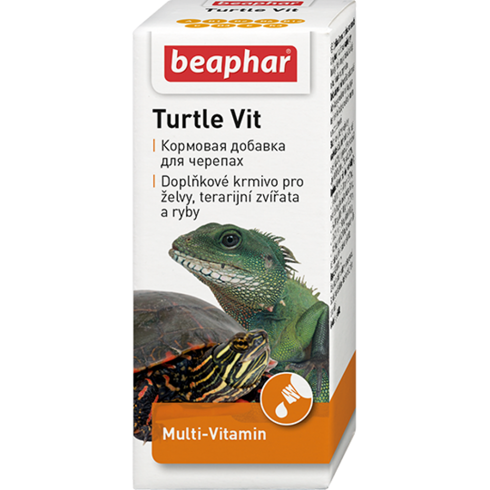 "Beaphar ""Turtle Vitamine"" Беафар - Витамины для черепах"