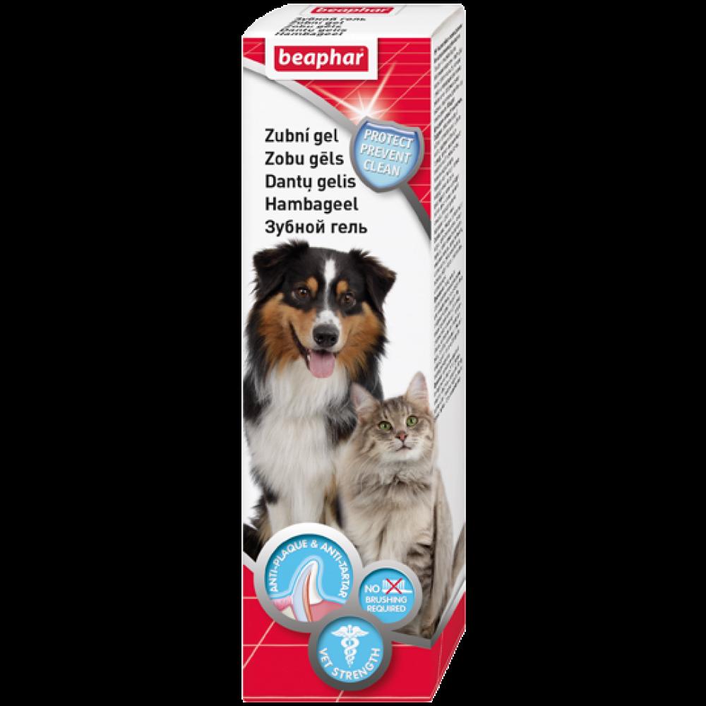 Beaphar Беафар - Гель зубной для собак и кошек (новая формула)