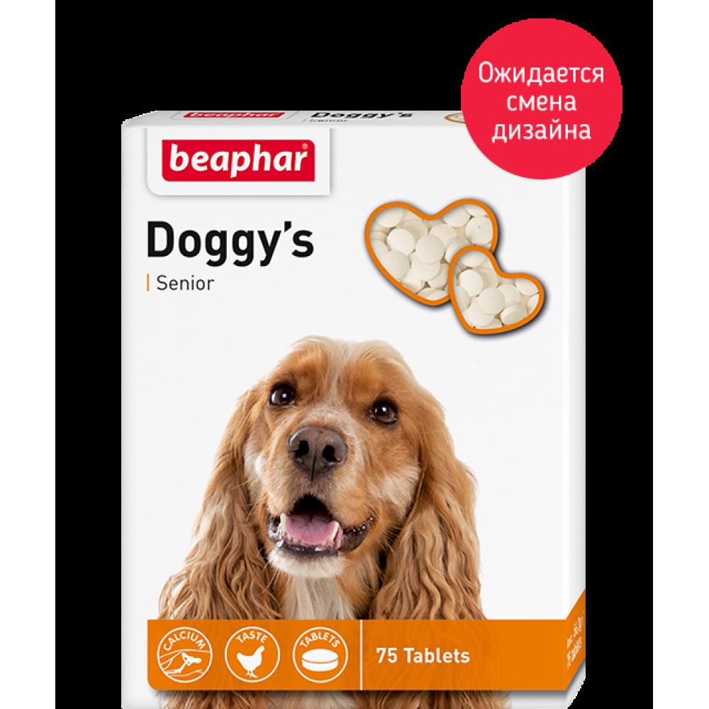 "Beaphar ""Senior Doggy's"" Беафар - Витамины для собак старше 7 лет"