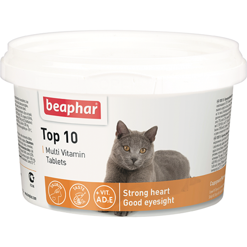 "Beaphar ""Top10"" Беафар - Витамины для кошек"