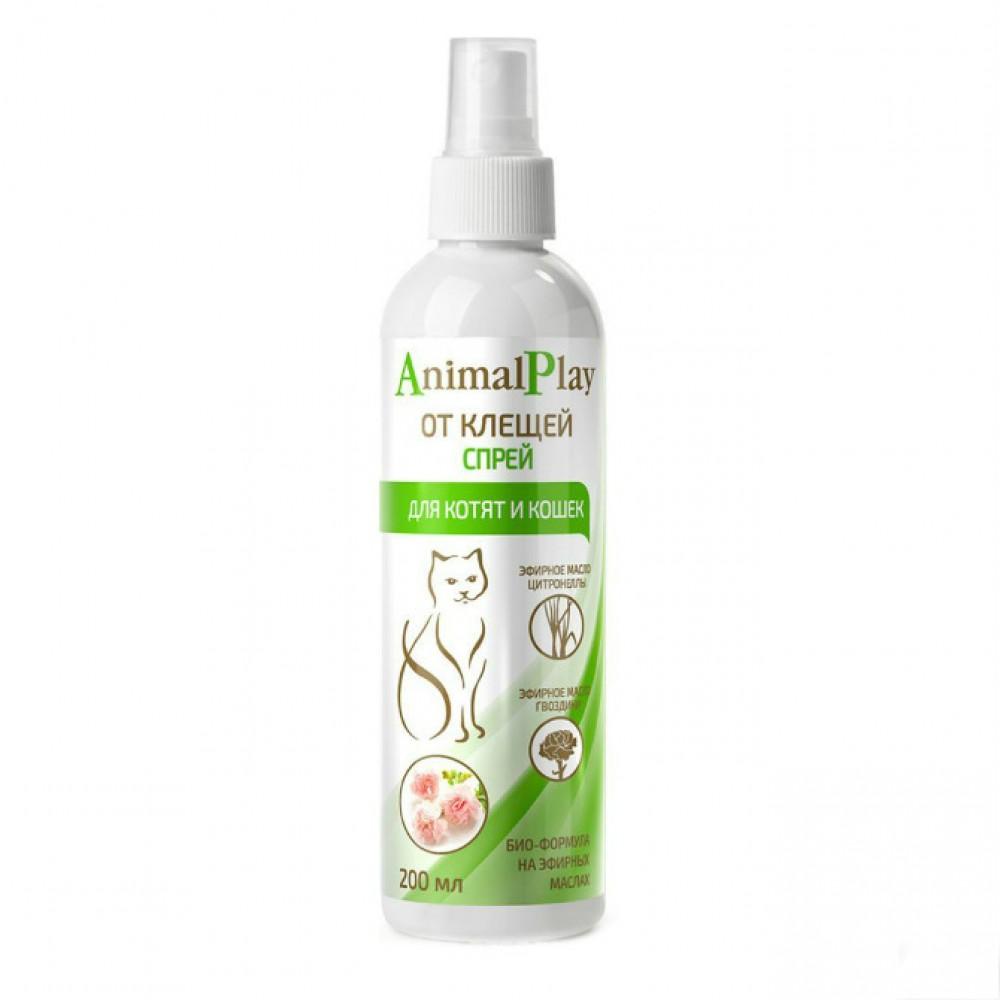 Биофольмэль Animal Play (Энимал Плэй) - Спрей репеллентный от клещей и других эктопаразитов для кошек