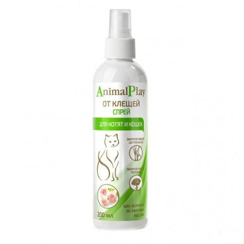 Animal Play (Энимал Плэй) - Спрей репеллентный от клещей и других эктопаразитов для кошек