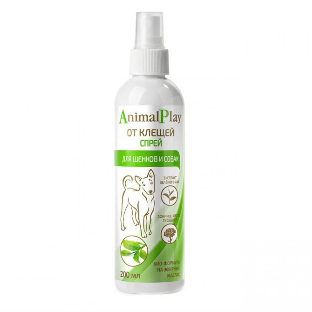 Биофольмэль Animal Play (Энимал Плэй) - Спрей репеллентный от клещей и других эктопаразитов для собак