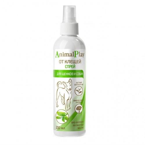 Animal Play (Энимал Плэй) - Спрей репеллентный от клещей и других эктопаразитов для собак