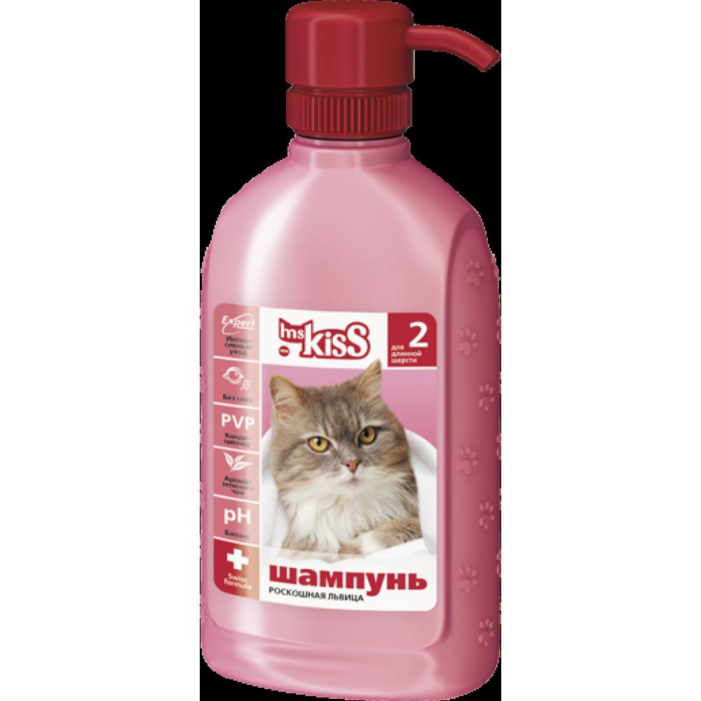 """Биофольмэль Ms. Kiss (М.Кисс) - Шампунь-кондиционер """"Роскошная львица"""" для кошек с длинной шерстью"""