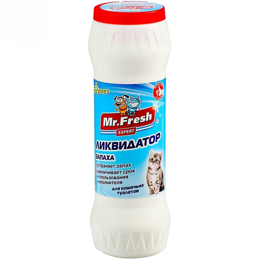 "Экопром Ликвидатор запаха для кошачьего туалета ""Mr.Fresh"" , фл. 500 г"