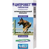 Ципровет - Таблетки для собак крупных и средних пород