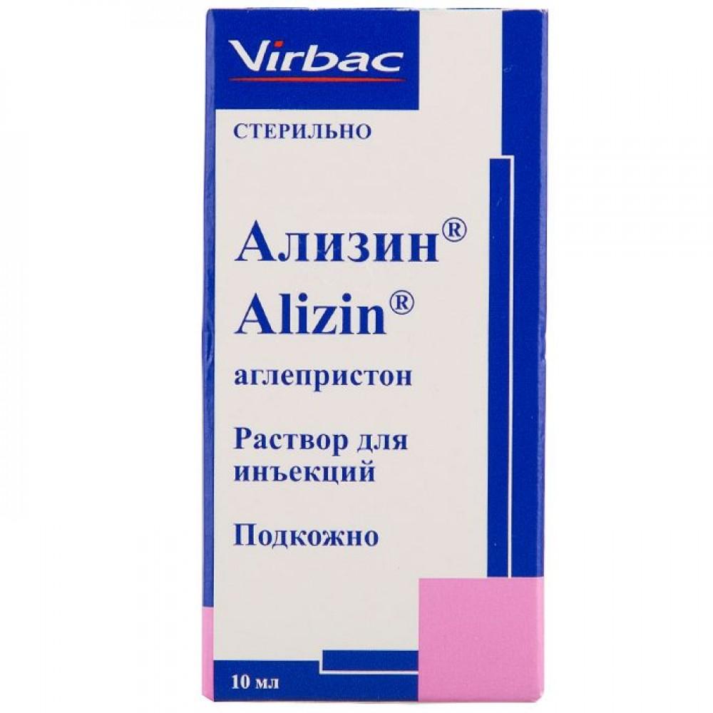 Virbac Ализин - Препарат для прерывания нежелательной беременности у собак после случайной вязки