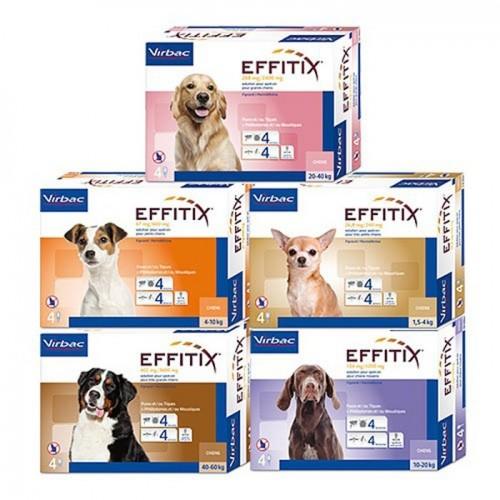 Эффитикс - Капли на холку для собак от блох и клещей