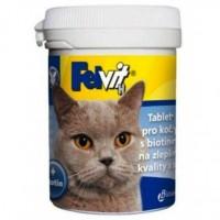 Фелвит Биотин - Таблетки для улучшения качества шерсти у кошек