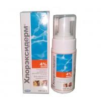 Хлорэксидерм 4% пена - Гигиеническое средство с увлажняющим действием для кошек и собак