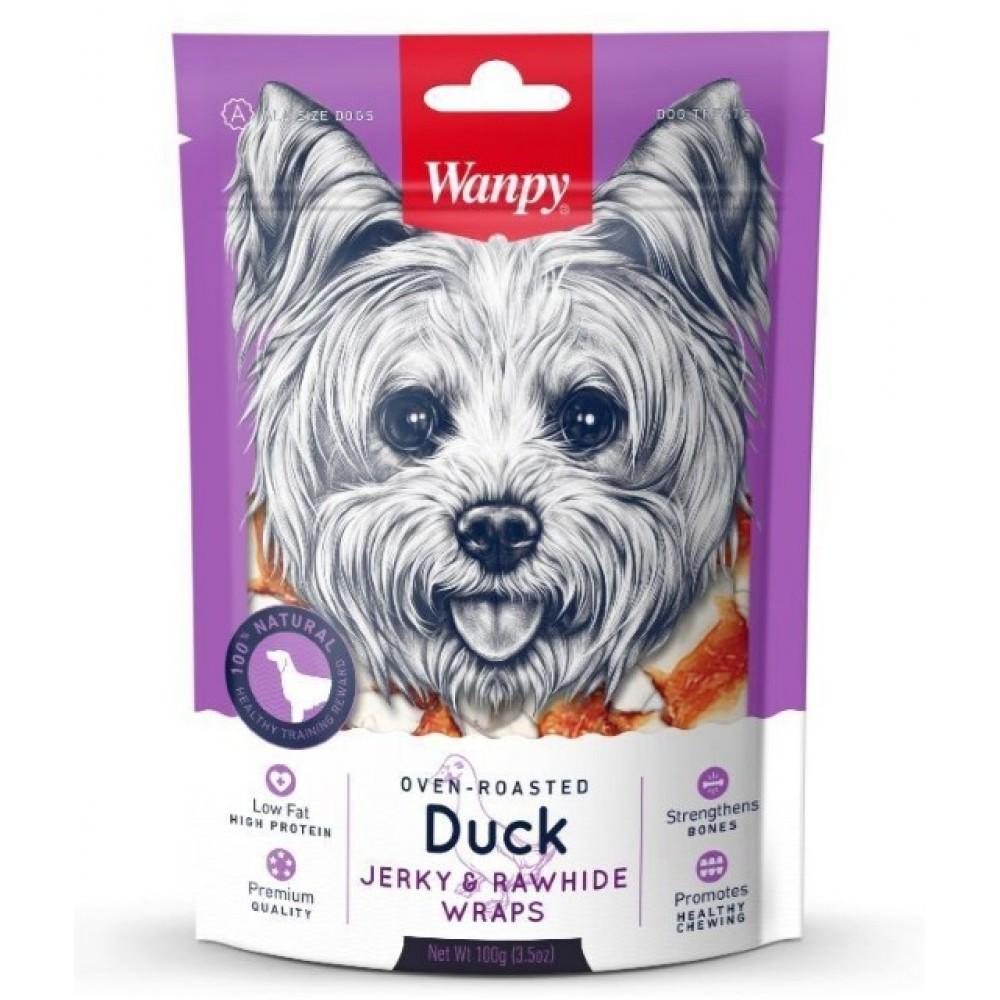 Wanpy Dog - Кости из сыромятной кожи с утиным мясом
