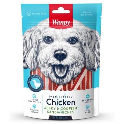 Dog - Курица с треской в форме сэндвича