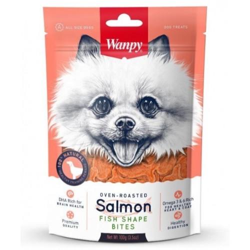 Dog - Лакомые кусочки из нежного лосося в форме рыбок
