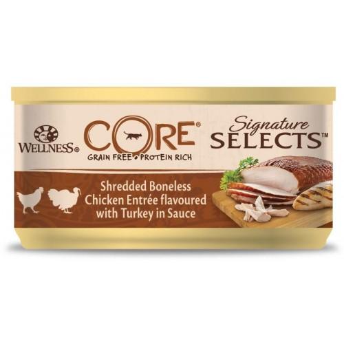 Signature Selects - Консервы из курицы с индейкой в виде кусочков в соусе для кошек