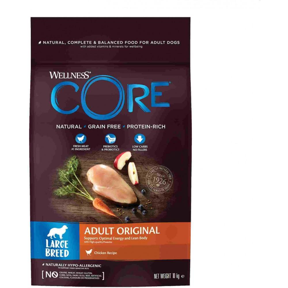 Wellness Core Корм из курицы для взрослых собак крупных пород
