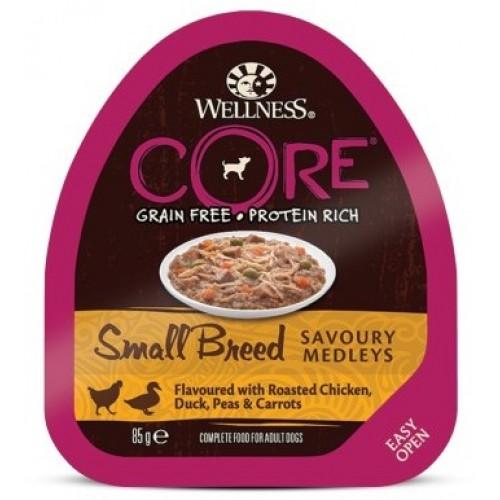 Small Breed - Консервы из курицы с уткой, горошком и морковью для собак мелких пород